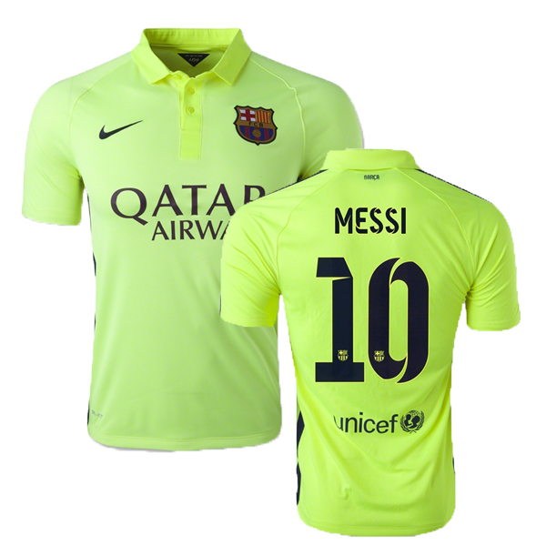 Lionel Messi Third Soccer Jersey 14/15 Barcelona #10