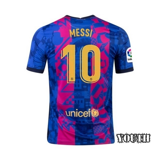 Lionel Messi Youth Home Soccer Jersey 14/15 Barcelona #10