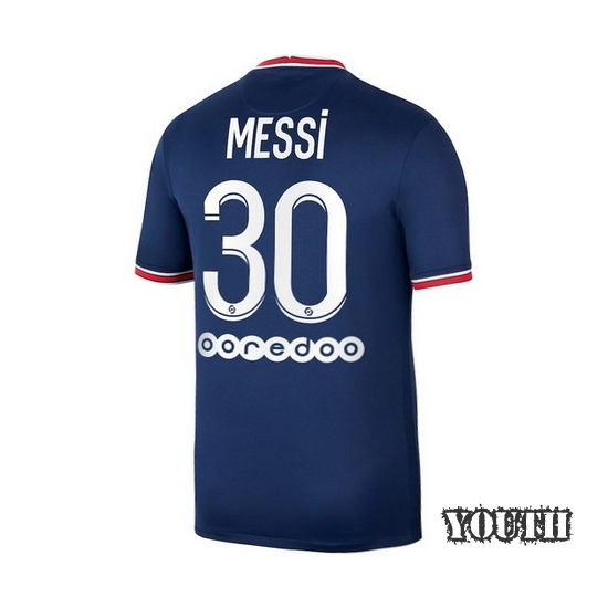 Lionel Messi Youth Away LS Soccer Jersey 14/15 Barcelona #10