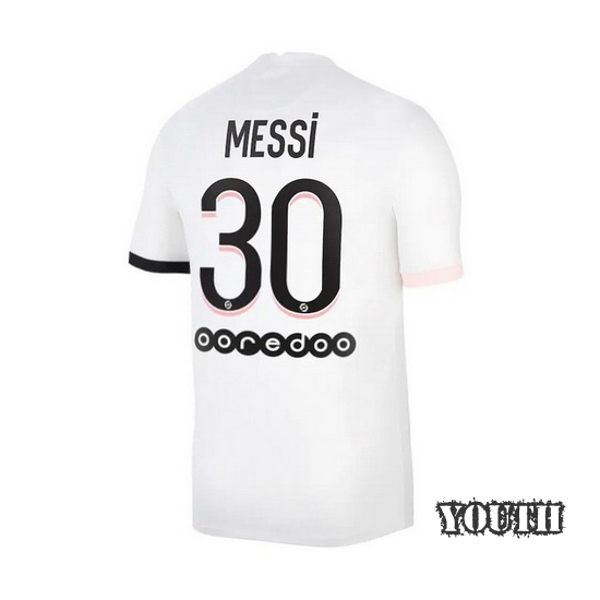 Lionel Messi Youth Away Soccer Jersey 2014 Argentina #10