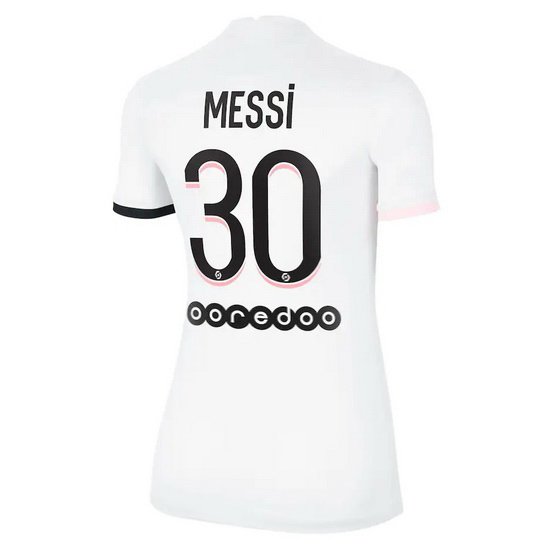 Lionel Messi Women's Away Soccer Jersey 2014 Argentina #10