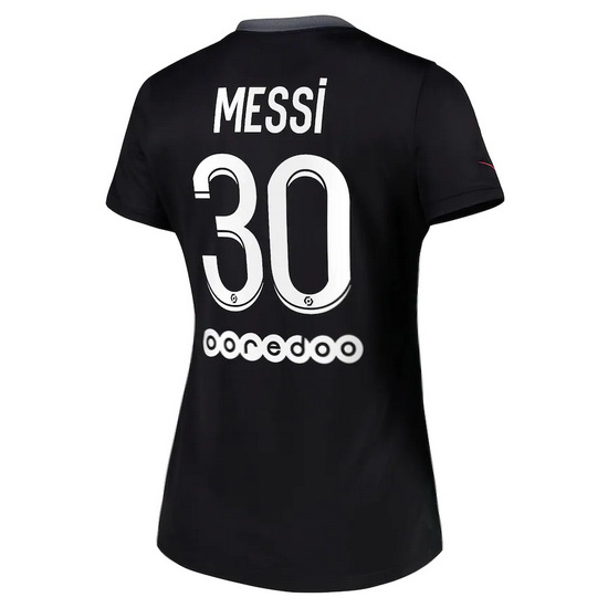 Lionel Messi Women's Away Soccer Jersey 15/16 Barcelona #10