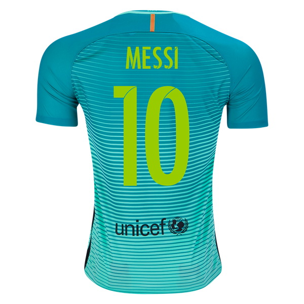 Lionel Messi Third Soccer Jersey 16/17 Barcelona #10