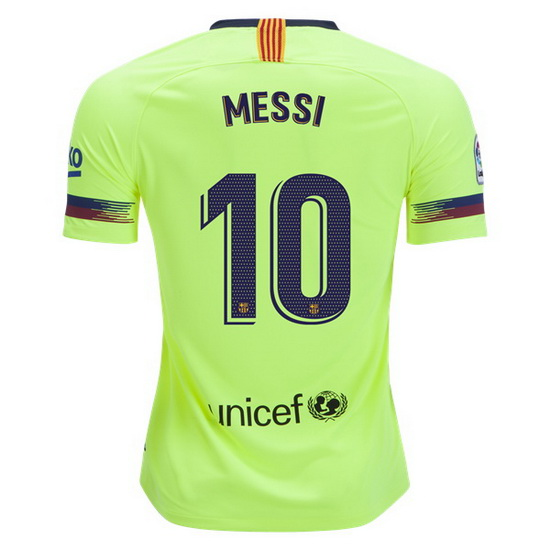 Lionel Messi Authentic Away Soccer Jersey 18/19 Barcelona #10