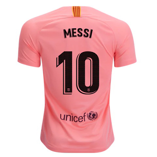 Lionel Messi Authentic Third Soccer Jersey 18/19 Barcelona #10