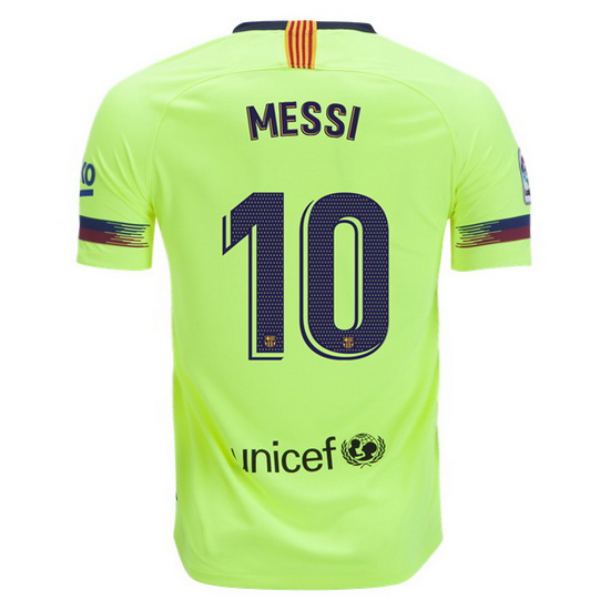Lionel Messi Away Replica Soccer Jersey 18/19 Barcelona #10