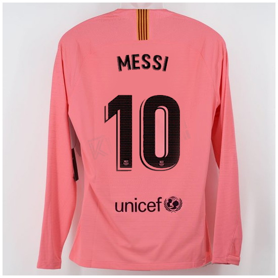 pretty nice 4cb90 468a9 Lionel Messi Third LS Soccer Jersey 18/19 Barcelona #10