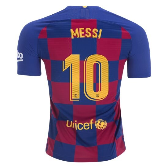 Lionel Messi Authentic Home Soccer Jersey 19/20 Barcelona #10