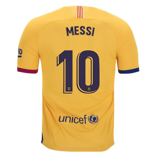 Lionel Messi Away Replica Soccer Jersey 19/20 Barcelona #10