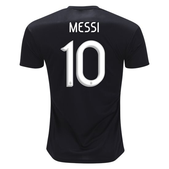 Lionel Messi Authentic Away Soccer Jersey 2019 Argentina #10