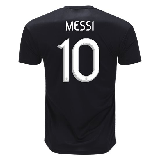 Lionel Messi Away Replica Soccer Jersey 2019 Argentina #10