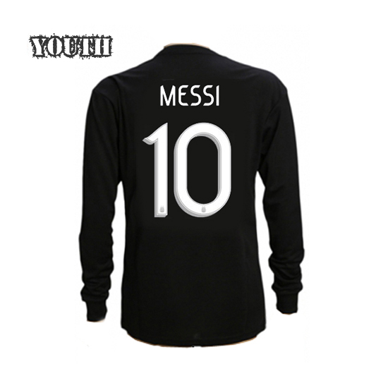 Lionel Messi Youth Away LS Soccer Jersey 2019 Argentina #10