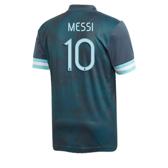 Lionel Messi Authentic Away Soccer Jersey 2020 Argentina #10