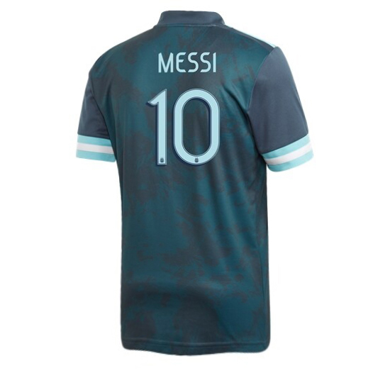 Lionel Messi Away Replica Soccer Jersey 2020 Argentina #10
